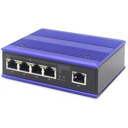 DN-650105, Индустриален суич 5 порта 10/100 Digitus
