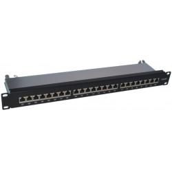 PK040, Пач панел 24 порта FTP Cat.6A A-Lan