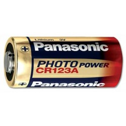 BAT-CR123A/V, Panasonic CR123A 3V батерия