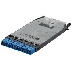 FHS9N-12-10N, HD Flex 6xLC duplex SM касета (празна)