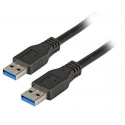 K5280SW.1.8, USB 3.0 кабел A - A M/M 1.8m, EFB