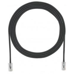 UTP28X5MBL, Пач кабел UTP cat.6A 28AWG 5m черен, Panduit