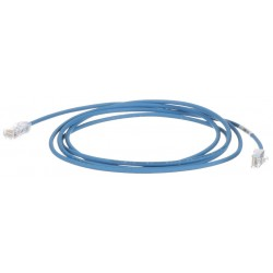 UTP28SP1.5MBU, Пач кабел UTP Cat.6 28AWG 1.5m син, Panduit