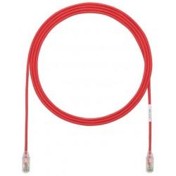 UTP28SP3MRD, Пач кабел UTP Cat.6 28AWG 3m червен, Panduit