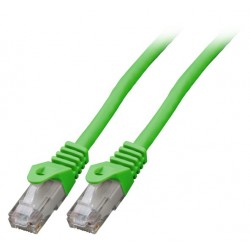 K8104GN.10, Patch cable Cat.6 10m UTP зелен, EFB