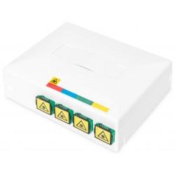 DN-931094, Опт. кутия с 4xSC(APC) Sx адптера 10x8x3cm, Assmann