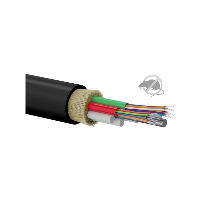 FOK-Z24G-MM, Опт. кабел 24F 50/125 OM2 PE black, A-lan
