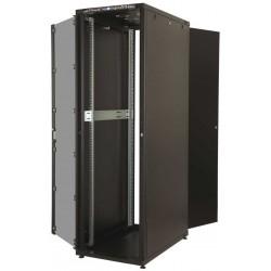 """LN-CK22U6010-BL, LANDE_CK, 22U 19"""" Server Glass.Doors 600x1000mm, Сървърен комуникационен шкаф (rack)"""