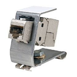 AN-25184/AN-25186, адаптер за DIN шина за LAN конектор