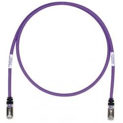 STP6X1.5MVL, Пач кабел STP Cat.6A 1.5м лилав, Panduit