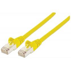 DK-1532-020/Y / A-MCSSP80020Y, Пач кабел  Cat.5e 2m SFTP жълт, Assmann