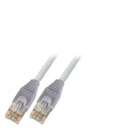 K8181.5, Пач кабел Cat.6a 2xAMP PiMF сив 5m, EFB