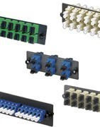 Fiber optic panels, adapters and other - Panduit