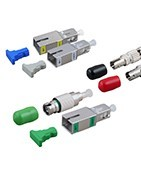 Оптични затихватели и атенюатори SC, LC, FC